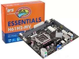 Motherboard Ecs H61h2-Mv Socket 1155 Ddr3