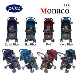 Stroler Pliko Monaco 4 fungsi