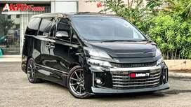 Toyota Vellfire GS Full Option 2013 Black On Black KM 34.000