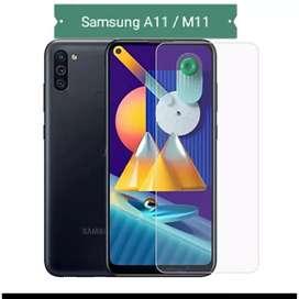 Ultra Tempered Glass Real Kaca Samsung A11