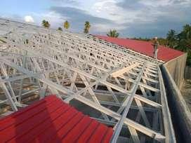 Jasa renovasi rumah - pabrik - gedung & Baja ringan