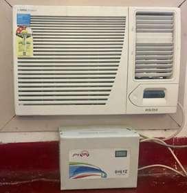 1.5 Ton window AC with Stabalizer