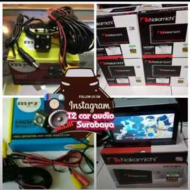 Nakamichi android link led 7inc 2din canggih plus camera hd grosir