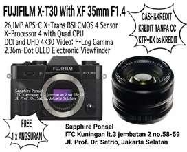 FUJIFILM X-T30 Mirrorless Digital Camera with XF 35mm F1.4[Info JaPri]