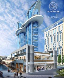 Available 268 Sq Ft Office Space for Sale in Bhutani Grandthum, Greate
