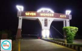 7 wonders 120 sq yards plot for sale