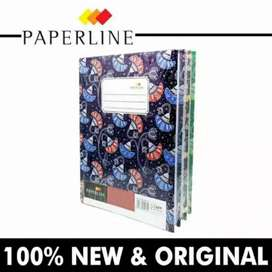 Buku Hard Cover Tebal Hardcover Paperline Quarto Kwarto Kuarto 100