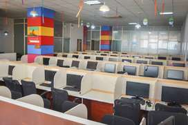 Furnished office space available for rent in reasonable price