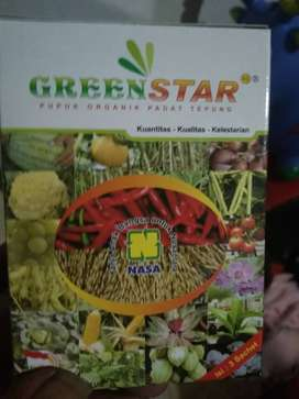 Green star pupuk bintang