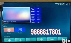 Latest offer 32 inch led smart 4k get 1 and free HD Tatasky conection