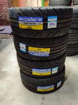 Ban mobil tubles accelera 651sport ukuran 205/50/r16 bukan Bridgestone
