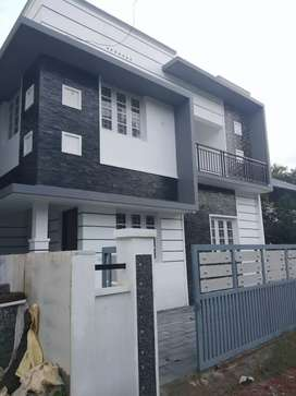 3 bhk 1300 sqft 3 cent new build house at varapuzha near thathapally
