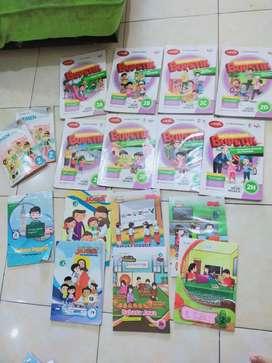Buku pelajaran Erlangga kelas 2 Bupetik dan LKS