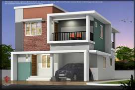 Luxurious villa in Gated community with Modern amenities in 4cents