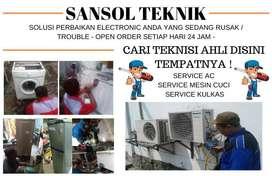 Service AC tidak dingin servis mesin cuci kulkas simokerto surabaya