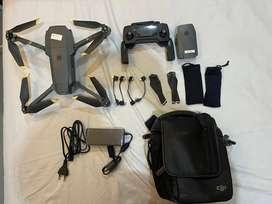 Drone DJI Mavic Pro 1 mulus. Dijual krn upgrade ke Mavic air 2S.