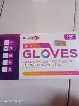Sarung tangan latex INCOM