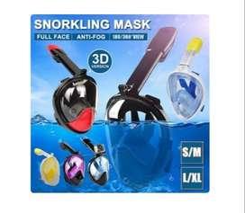 Snorkel Full Face Snorkeling Diving Mask Easy Breath