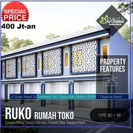 Ruko Murah Madiun 400 Jt-an Dekat Jl Raya Madiun-Ponorogo
