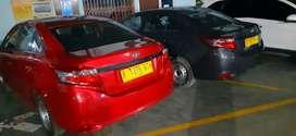 Vios limo 2014 KM low garansi 6 bulan bisa request warna