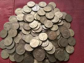 Old coins for collection and pooja