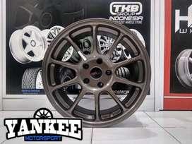 Cicil Velg Mobil DP 10% HSR Wheel ZERO Ring 17 HOLE 5X114,3 SMBRZ