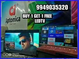 APTONICA SMART 4K BUY 1 GET 1 FREE  LEDTV MAKE IN INDIA