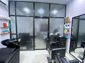 GLASS PARTITION ON SALE