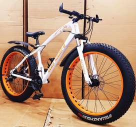 Xtreme Fat Tyre Cycle with 21 Speed Gears The Mountain Bike