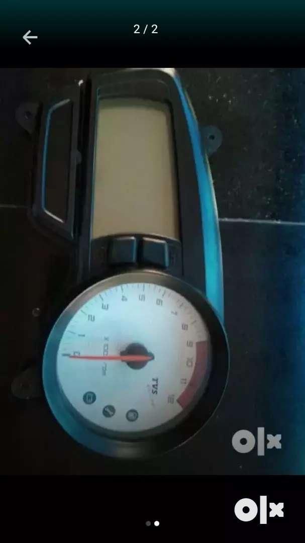 Rtr 180 speedo meter 0