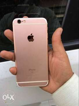 Iphone 6s 32GB In excellent Condition Rose Gold Color New Condition