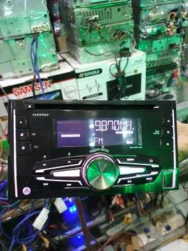 Orisinil Tape Mobilio HONDA JVC PANDORA USB MP3 RADIO AM FM AUXIN
