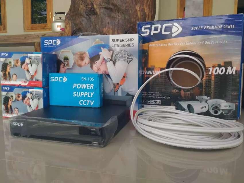 Cctv Terlaris Spc 5 Mp superlite jernih bisa pantau dari hp 0