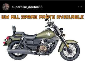 Um motorcycle parts availble