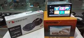 Head unit Rockbox mirolink + spkr nakmici