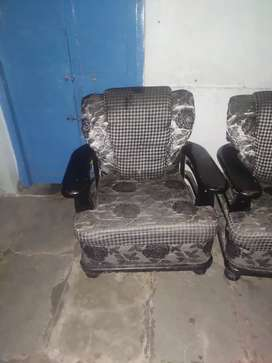 Two sofas are available and it good condition