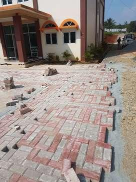 paving block konblok kanstin bata tempel terakota expose loster roster