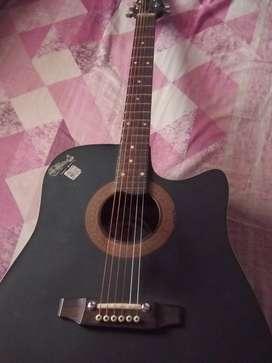 Semi jumbo acoustic guitar