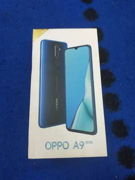 Oppo A9 2020 8GBRAM128 memory box and charger exchange  good condition