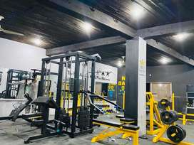 Gym machines and body all body building equipments