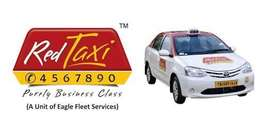 Wanted driver for red taxi