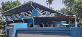 12Cent rectangular plot with old house 400m from Kollam Bypass