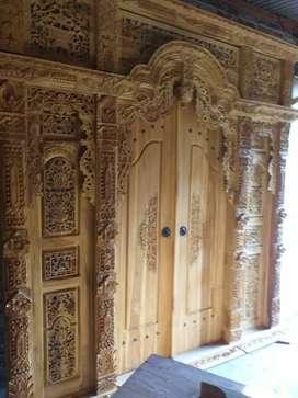alvia pintu gebyok gapuro jendela untuk rumah gedung masjid musholla