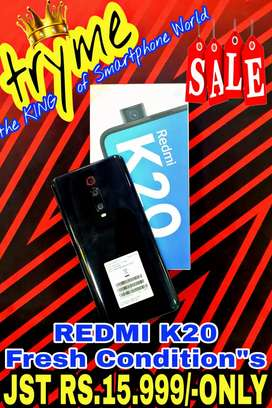 TRYME REDMI K20 Full Kit Box Brand New Conditions
