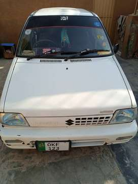 Mehran car 2006 model in good condition. ganine cng fited, smart card.