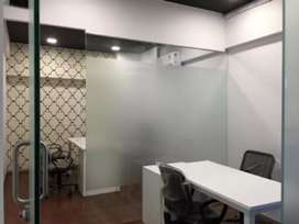 Fully furnished office with ac for rent in vesu