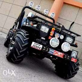 New modified jeeps