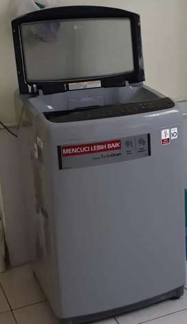 Mesin cuci lg smart inverter 18 kg turbo drum