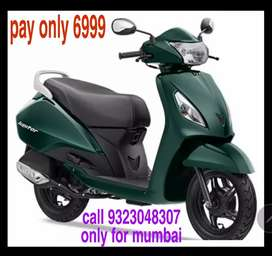 Tvs jupiter with low downpayment