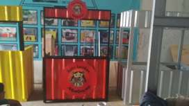 Container booth murah